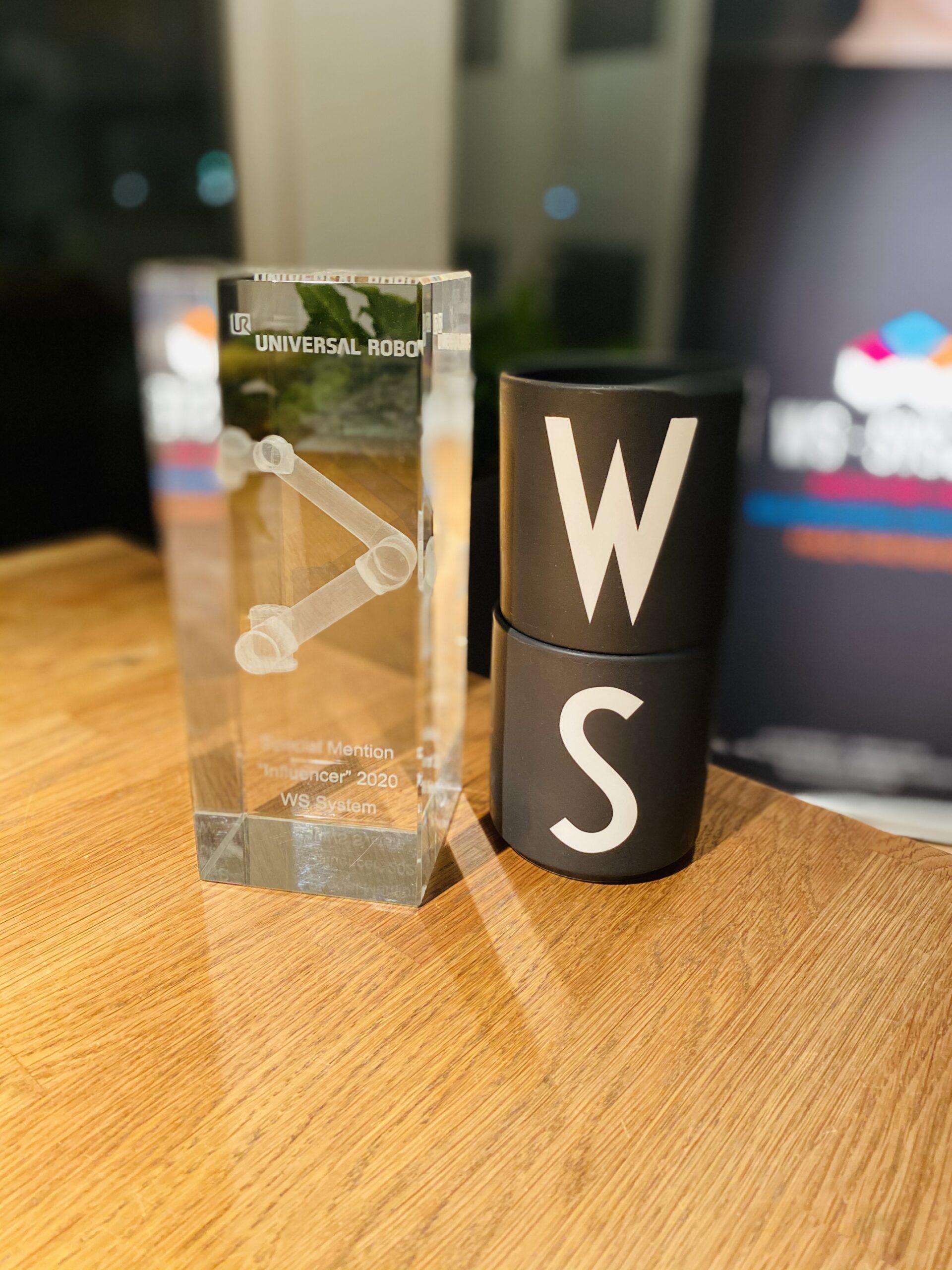 WS System Award Universal Robots